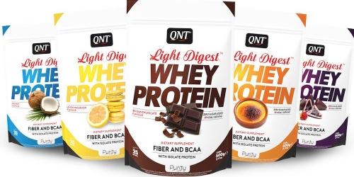 Протеины (высокобелковые смеси) - QNT Light Digest Whey Protein от 0 ... e8d39d71de2