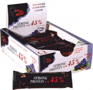 NO ONE NEAR Strong Protein Bar 45 %