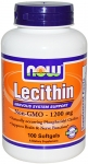 NOW Lecithin Non-GMO 1200 mg