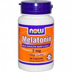 NOW Melatonin 3 mg