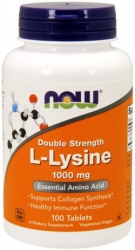Now L-Lysine 1000 mg