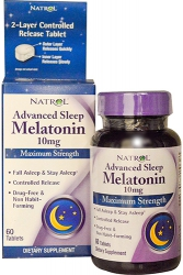 Natrol Advanced Sleep Melatonin 10 mg Maximum Strenght