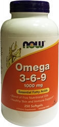 NOW Omega-3-6-9 1000 мг