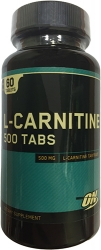 Optimum Nutrition L-Carnitine 500 mg tabs