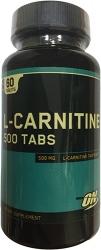 Optimum Nutrition L-Carnitine 500 mg tabs