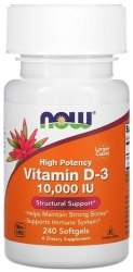 NOW Vitamin D-3 10000 IU