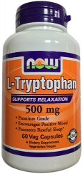 NOW L-Tryptophan 500mg