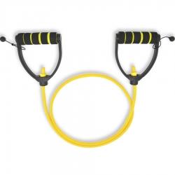 Желтый регулируемый трубчатый эспандер