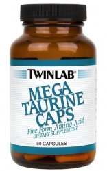 Twinlab Mega Taurine Caps