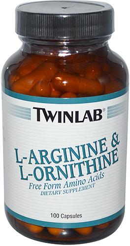 Twinlab L-Arginine & L-Ornithine