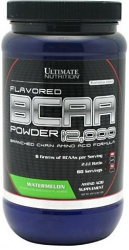 Ultimate Nutrition Flavored BCAA Powder 12000