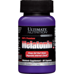 Ultimate Nutrition Melatonin 100% Premium 3 mg