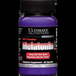 Ultimate Nutrition Melatonin 100% Premium 3 mg