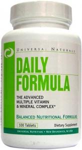 Universal Naturals (Nutrition) Daily Formula