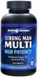 BodyStrong Strong Man Multi High Potency