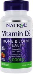 Natrol Vitamin D3 5000 IU Fast Dissolve