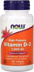 NOW Vitamin D-3 1000 IU